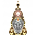 Hanuman Chalisa Yantra With Gold Plated Chain (As Seen on TV)