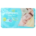 Pampers Baby-Dry 46 Disposale Dipers New Born For-8kg