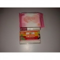 uzana rose wipes(25wipes)+tulips cotton 100(sticks)+ivivi lipgloss+lipstick