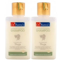 Dr. Batras Pack of 3 Dandruff Cleansing Shampoo-200 ml Each