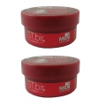 ST.bir Herbals Hair Wax For Men (Red)-75g (Pack Of 2)