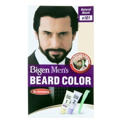 Bigen Mens Beard Color B101 Natural Black
