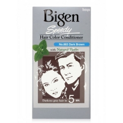Bigen Speedy Hair Color Conditioner No.883 Dark Brown