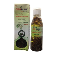 Biocare Gem Blue Forest Herbs Shine Boost Hair Oil Blend With Jasmine-200ml