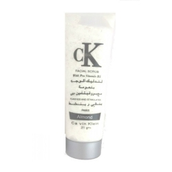 Calvin Klein facial scrub with pro vitamin B5 ALMOND 250G