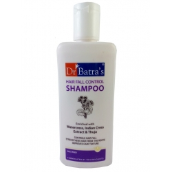 Dr Batra's Hair Fall Control Shampoo Enriched With Watercress, Indian Cress Extract And Thuja-200ml