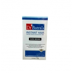 Dr. Batra's Instant Hair Natural Keratin Hair-Building Fibre Dark Brown