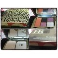 HR Helena Rubinstein Glamour Kit Four Color Eyeshadow And Solid Color Blusher And Powder Shade 01