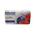 Johsons Body Care Vita-Rich Replenising Soap With Raspberry Extract-125gm