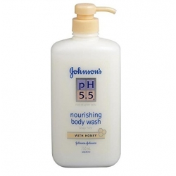 Johnsons PH 5.5 Nourishing Body Wash With Honey-750ml