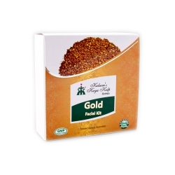 Kulsums Kaya Kalp Herbals 24 Carat Gold Facial Kit-65gm