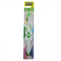Lotus Soft Rounded Puffy Bristles Cone Head Kids Toothbrush