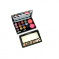 Mac 12 Colors Eyeshadow With 2 Colors Blush Shade 01-20gm