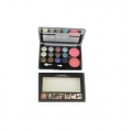 Mac 12 Colors Eyeshadow With 2 Colors Blush Shade 02-20gm
