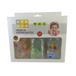 Meemee Premium Feeding Bottle Pack of 3-MM-LP 4C C