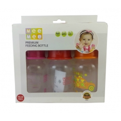 Meemee Premium Feeding Bottle Pack of 3-MM-RP 4 A