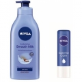 Nivea Body Lotion  Smooth Milk Dry Skin Shea Butter