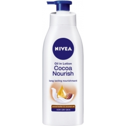 Nivea Oil In Lotion Cocoa Nourish Long Lasting Nourishment Cocoa Butter And Coconut Oil Very Dry Skin-400ml