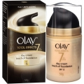 Olay Anti -Ageing Total Effects 7 in 1 Gentle Day Cream Touch Of Foundation SPF15 50g