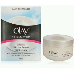 Olay Natural White All in One White Fairness Night Cream 50 g