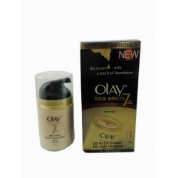 Olay Anti -Ageing Total Effects 7 in 1 Normal Day Cream Touch Of Foundation SPF15 50g