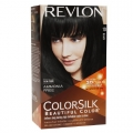 Revlon ColorSilk No.-10 Black Ammonia Free 3D Color Technology (Made In U.S.A.)
