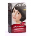 Revlon Top Speed Hair Color 60 Natural Brown Ammonia Free