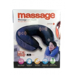 ShoppersCave U Shape Massage Pillow Shape With Music