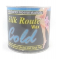 Silk Route Cold Wax With Honey Superior Elasticity Gently Remove Facial And Body Hair-600g.