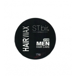 ST.bir Herbals Hair Wax For Men (Black)-75g
