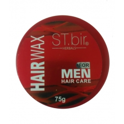 ST.bir Herbals Hair Wax For Men (Red)-75g