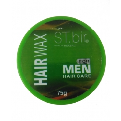 ST.bir Herbals Hair Wax For Men (Green)-75g