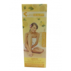 Swiss Beauty Lemon Extract Mineral Cleansing Scrub Gel-100ml
