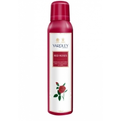 Yardley Red Rose Refreshing Body Spray Deodorant-150ml