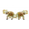 ShoppersCave Colorfull Elephant Set-Rajasthan Handicraft
