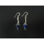 Beautiful Charming Blue Stone studded Earring in Sterling Silver