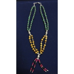 Banjaran style double string neclace