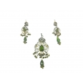 N0024-Beautiful pendant set with nice Zircon & Sterling Silver