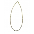 N0026-Beautiful Gold And Silver Plated Chain For Any Occassion