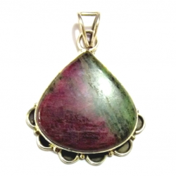 Nice Pendant made with Beautiful Stone and Sterling Silver