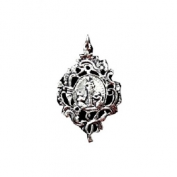Artistic Sliver Plated Pendant