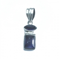 Nice Pendant made with Beautiful Amethyst Stone and Sterling Silver