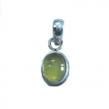 Nice Pendant made with Beautiful Lemon Topaz Stone and Sterling Silver