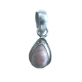 Nice Pendant made with Beautiful Rodocrosite Stone and Sterling Silver