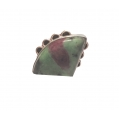R0024-Nice Ring with Ruby Zeosite Stone and Sterling Silver