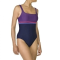 Nabaiji Loran Women's Swimsuit (Black/Purple)