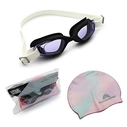 VIVA SWIMMING GOGGLE CAP SET VX 10 SENIOR (EXPORT QUALITY)