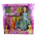 ShoppersCave Barbie Doll Set YX003C