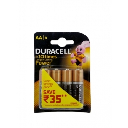 Duracell AA (Pack Of 8 Cells) 10 Times Longer Lasting Power Batteries