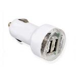 Car Charger with Double USB Ports 5V output best for iPhone iPod mp3 player-Multicolor